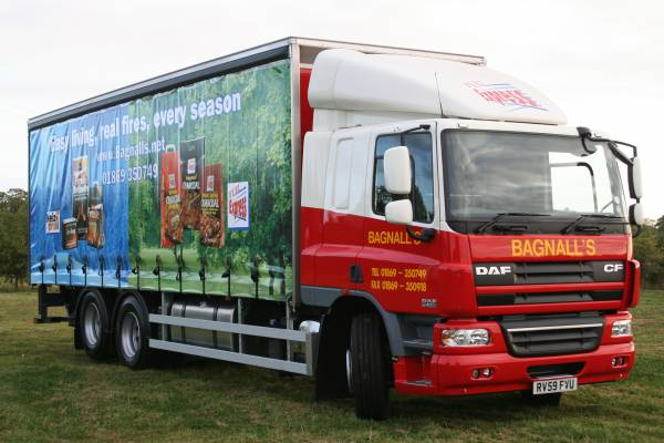 Bagnalls delivery lorry