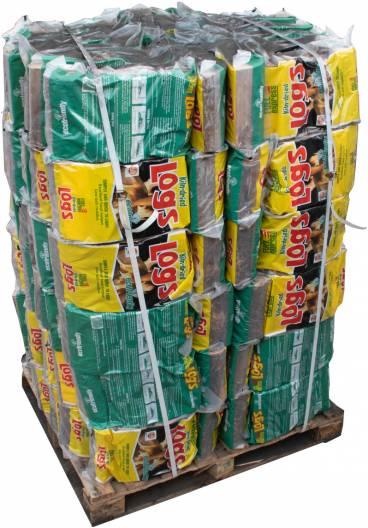 Kiln Dried Logs Full Pallet